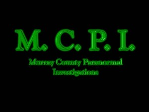 M.C.P.I. Murray County Paranormal Investigations
